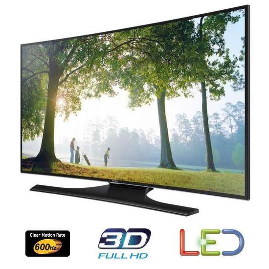 SAMSUNG UE48H6850 Smart TV LED Curved Full HD 3D 1   Téléviseur Led, Avis  Et Prix Pas Cher   Cdiscount