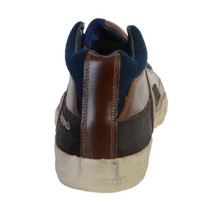 Chaussure Redskins GO4112P Alvado Cognac + Marine
