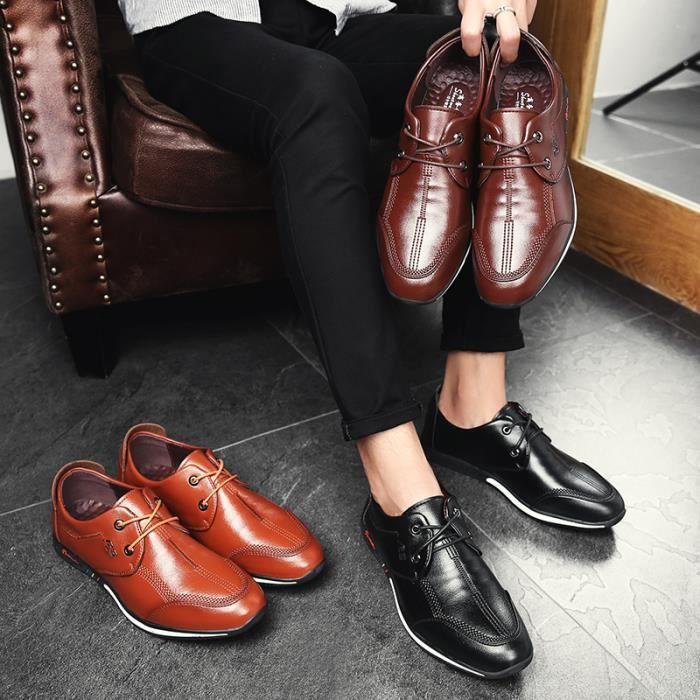Villechaussures Chaussures Mocassins Légères Main à Confortables Mode Et Homme De Pour La 7xZTI