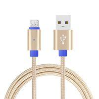 CÂBLE TÉLÉPHONE 1Pc Micro USB Câble de charge de données avec LED