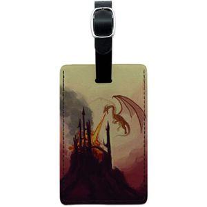 VALISE - BAGAGE Flying Dragon de respiration du feu Fantasy Castle