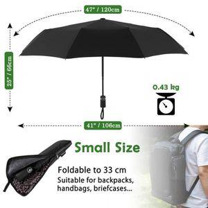 PARAPLUIE Parapluie pliant, parapluie coupe-vent et ultra-lé