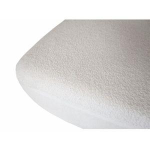 PROTÈGE MATELAS  Protège matelas 40x80 cm pour berceau blanc imperm