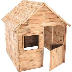 MAISONNETTE EXTÉRIEURE Cabane en bois pour enfant  MARIA