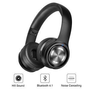 Fulozo Stéréo Casque Bluetooth écouteur Sans Fil Casque Audio