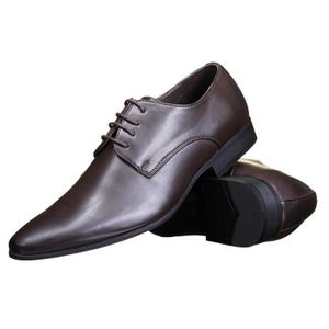 Chaussure italienne marron homme Galax