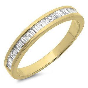 BAGUE - ANNEAU Bague Femme Diamants 0.13 ct  14 ct 585-1000 Or Ja