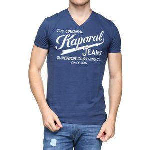 T-shirt Kaporal homme - Achat   Vente T-shirt Kaporal Homme pas cher ... 6aba2df8e5e
