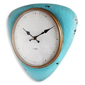 HORLOGE ORIUM Horloge Vintage Ø 32cm - Métal et plexy - Ve