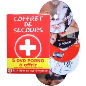DVD FILM Coffret Humoristique 5 Dvd Porno  De Secours A Con