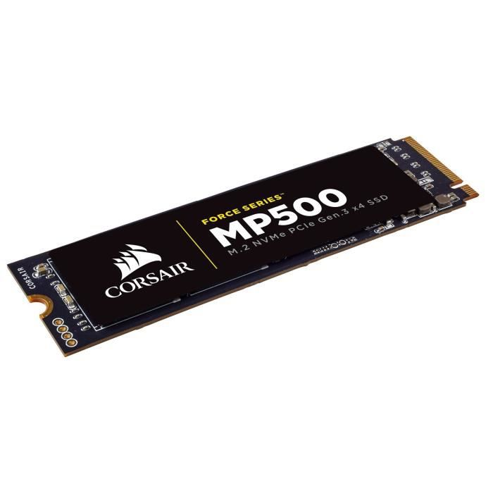 CORSAIR Solid State Drive - Force MP500 120 Go - M.Sata PCIe (CSSD-F120GBMP500)