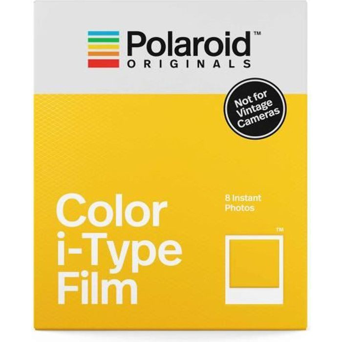 POLAROID ORIGINALS 4668 Film instantané couleur - Pour appareil photo i-type
