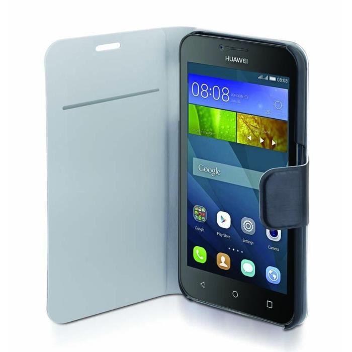 TNB Etui folio pour Huawei P9 Lite - Noir