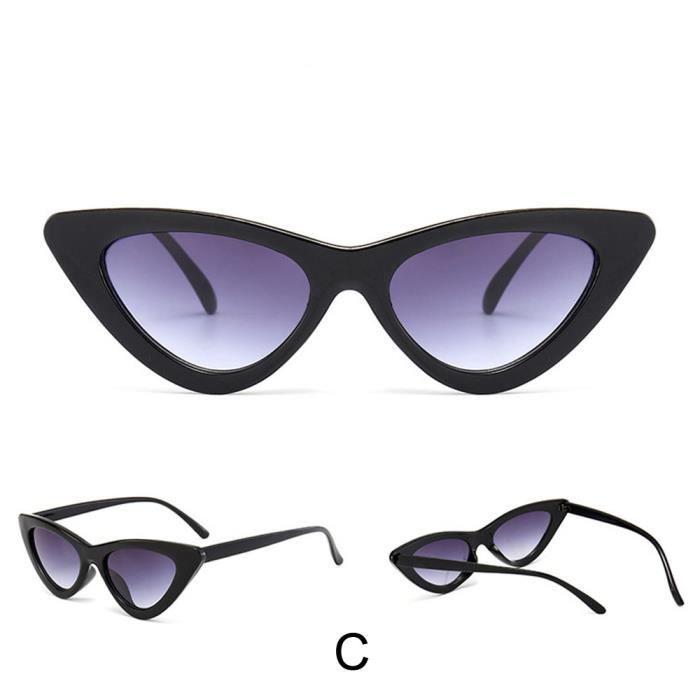Deuxsuns®Femmes Fashion Cat Eye Shades lunettes de soleil UV intégré colorées lunettes@zf209