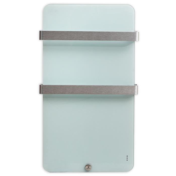 radiateur s che serviette ultra plat 600w blanc achat vente radiateur lectrique radiateur. Black Bedroom Furniture Sets. Home Design Ideas