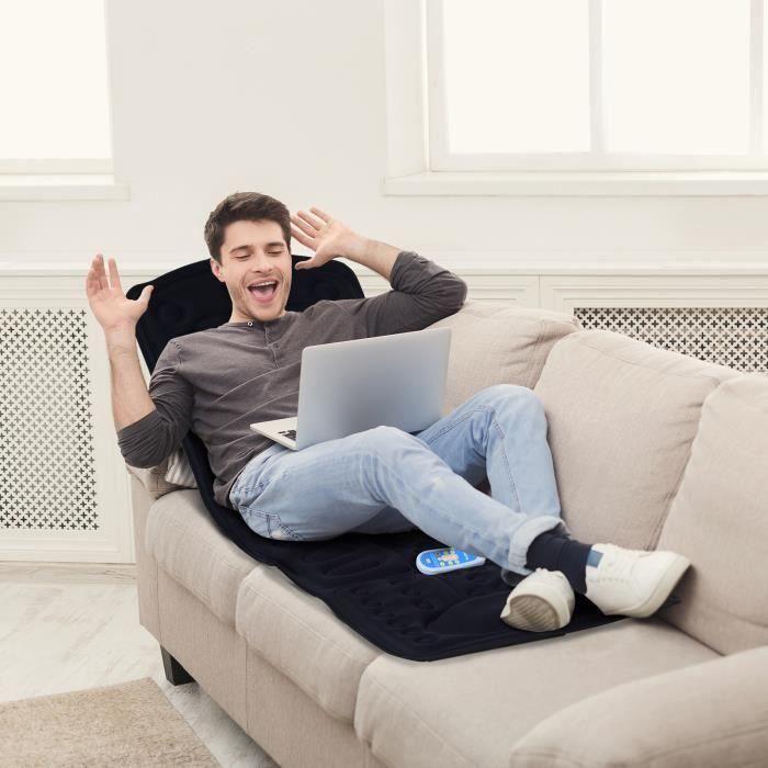matelas chauffant massage achat vente matelas chauffant massage pas cher cdiscount. Black Bedroom Furniture Sets. Home Design Ideas