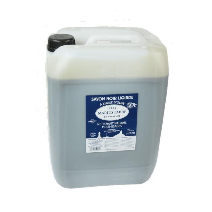 savon noir liquide 20 litres