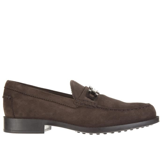 Mocassins homme en daimmacro clamp Tod's