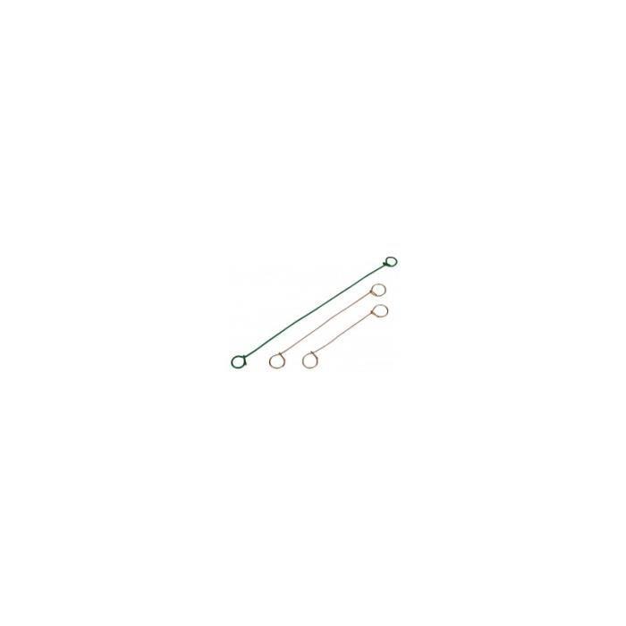 Liens metalliques a boucles film rétractable - caractéristiques:botte de 1000 liens longueur:140 mm bu5dYc