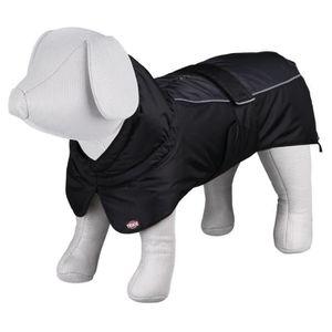 TRIXIE Manteau d?hiver Prime S: 40 cm noir/gris pour chien