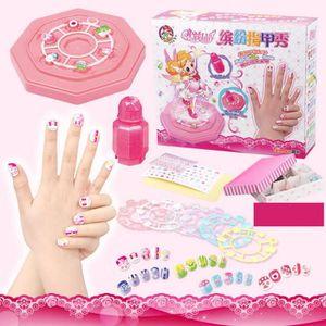 faux ongles pour enfant achat vente faux ongles pour enfant pas cher cdiscount. Black Bedroom Furniture Sets. Home Design Ideas