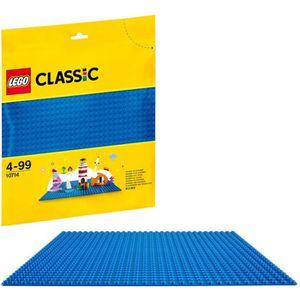ASSEMBLAGE CONSTRUCTION LEGO® Classic 10714 La plaque de base bleue
