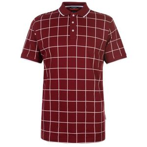 POLO Pierre Cardin Checked Polo T-Shirt Classique Homme