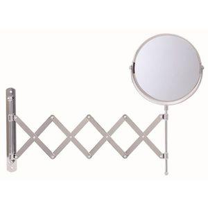 Miroir salle de bain mural grossissant achat vente miroir salle de bain mural grossissant for Miroir extensible