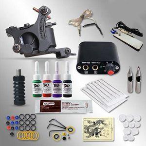 KIT TATOUAGE AVANC Kit Tatouage Machine A Tatouer 4 Couleur PRI