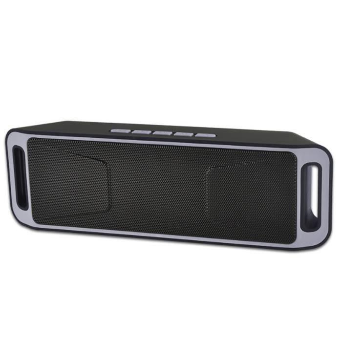 Parleur Sans Fil Bluetooth Sonnerie Haut-parleur Portable Mini Music Box Usb Lly70807102gy