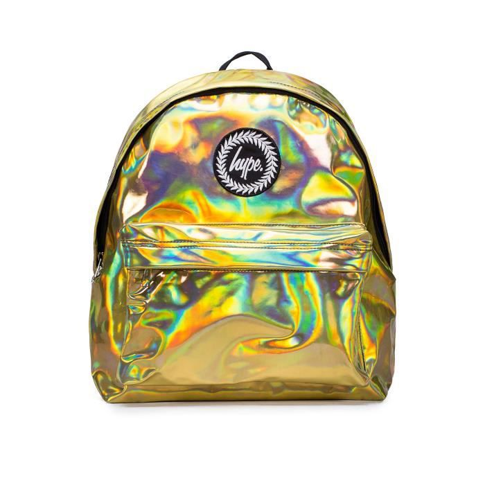 Sac à dos Hype | Or Holographic | New School Day Bag Voyage BHXL8
