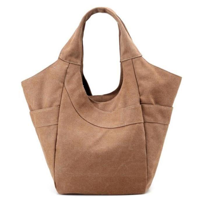 Tm) Nouveau style écologique shopping épaule Sac à main Sacs A7P0V