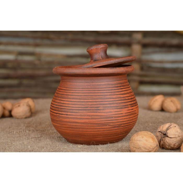 cuisine terre cuite stunning vaisselle pot en terre cuite avec couvercle marron cologique fait. Black Bedroom Furniture Sets. Home Design Ideas