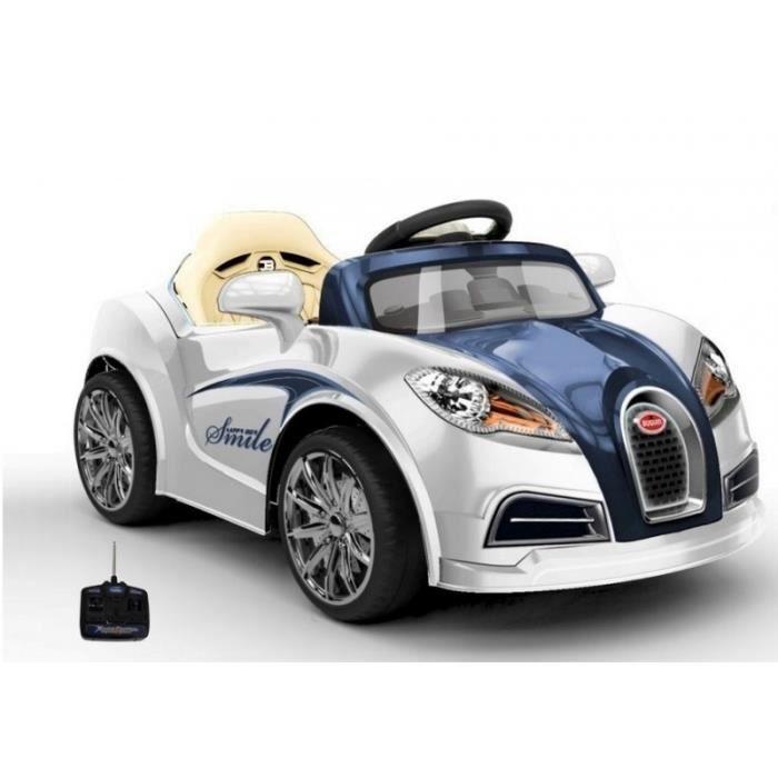 voiture lectrique pour enfant bugatti style 12v achat. Black Bedroom Furniture Sets. Home Design Ideas