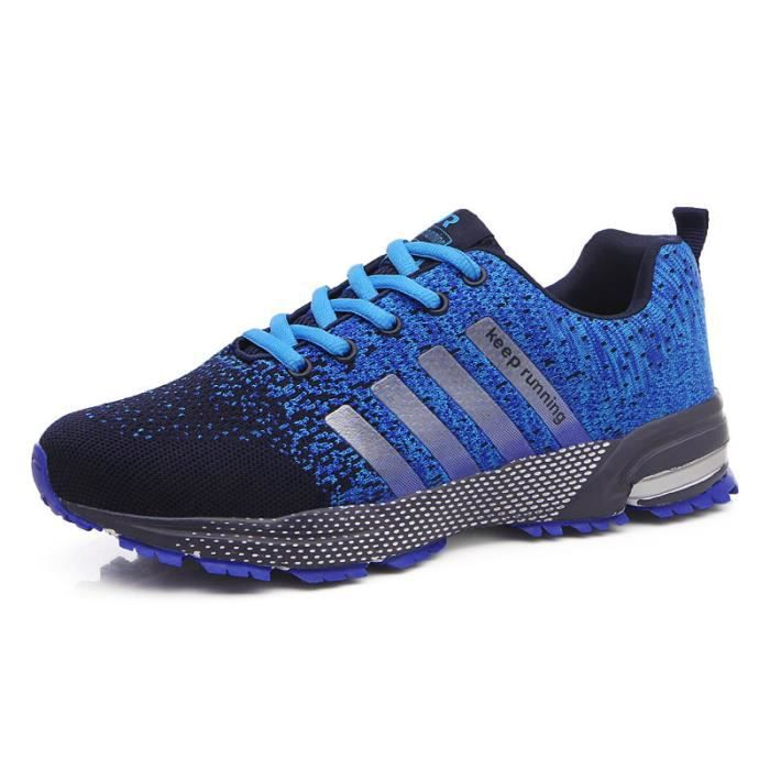 Baskets Hommes Femme Gym Fitness Sport Chaussures tFxsf