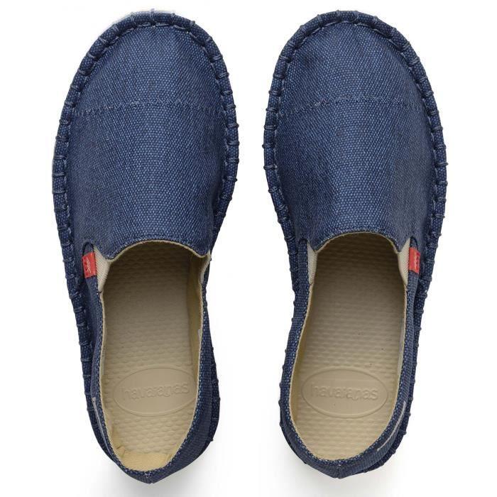 Chaussures espadrilles bleu - Bleu - 31
