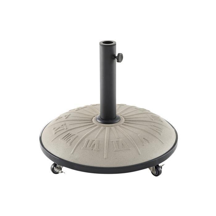 pied de parasol a roulette. Black Bedroom Furniture Sets. Home Design Ideas