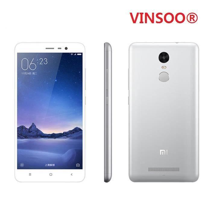 SMARTPHONE VINSOORXiaomi Redmi Note 3 32 Go Pro Blanc 55 Pou