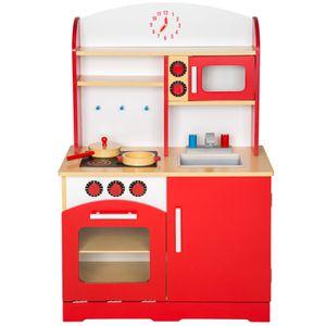 cuisine enfant bois achat vente cuisine enfant bois pas cher black friday le 24 11 cdiscount. Black Bedroom Furniture Sets. Home Design Ideas
