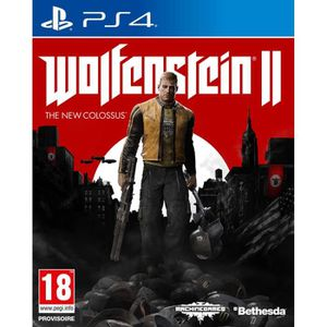 JEU PS4 Wolfenstein II The New Colossus Jeu PS4