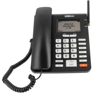 Téléphone portable Téléphone de bureau GSM sans fil Maxcom - Grandes