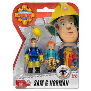 VOITURE - CAMION Sam Le Pompier - Fireman Sam - Ensemble Jouer Chif