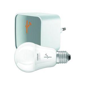 PACK DOMOTIQUE OSRAM Kit de démarrage passerelle et ampoule 9,5W