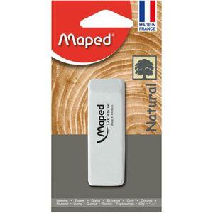 FLOCON DE MAÏS MAPED - Gomme blanche Dessin - Matière caoutchouc