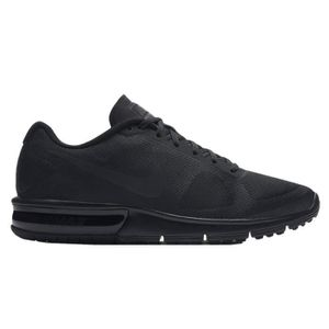 sports shoes c9e30 234b2 BASKET Nike Men s Air Max Sequent Running Shoes, Black, 6