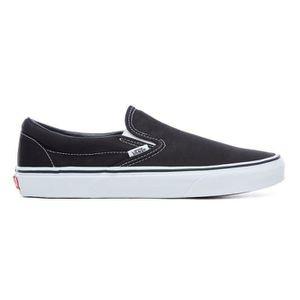 VANS Slip on classique (toile mono) Milky Chaussures de skate Vert JM57O Taille 36 1 2