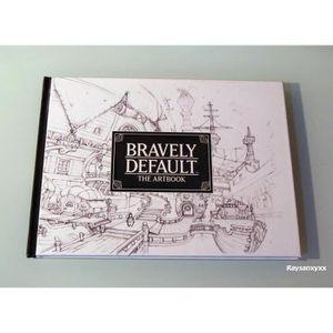 AUTRES LIVRES Artbook BRAVELY DEFAULT