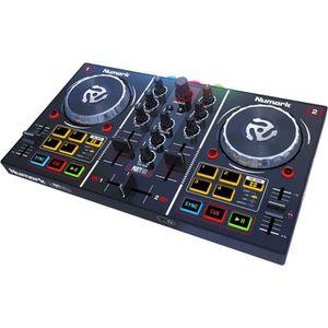 TABLE DE MIXAGE NUMARK PARTY MIX Contrôleur DJ 2 voies avec carte