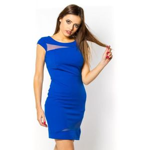 a97d1da120b Robe BLEUE Bleu - Achat   Vente robe 2009799225715 - Cdiscount