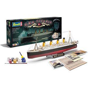 MAQUETTE DE BATEAU REVELL 100 ans du Titanic Edition Speciale - Maque